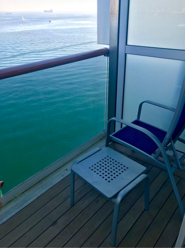 Balcony Cabin 7140 On Carnival Miracle Category 8d