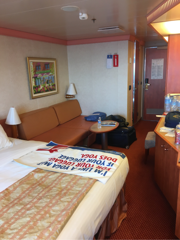 Balcony Cabin 9296 On Carnival Splendor, Category 8E