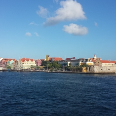 Willemstad, Curacao - Beautiful, colorful Curacao.
