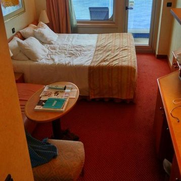Balcony Stateroom on Carnival Conquest