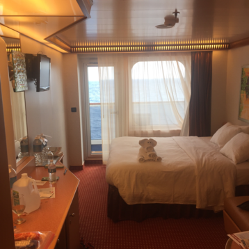 Balcony Stateroom on Carnival Dream
