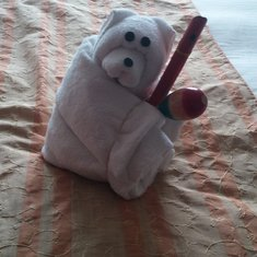 kids toys with towel animal