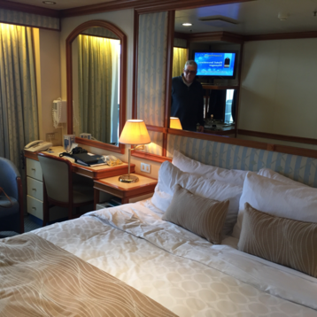 Balcony Stateroom on Grand Princess