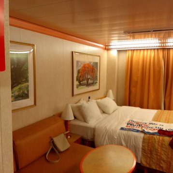 Oceanview Stateroom on Carnival Miracle