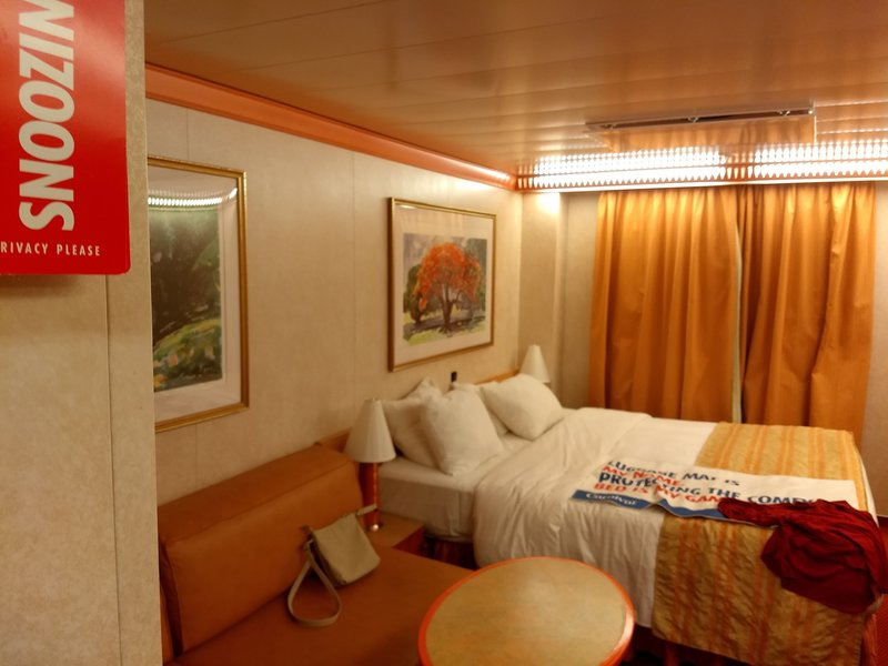 Oceanview Stateroom Cabin Category 6a Carnival Miracle
