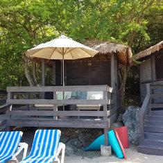 Cabana NB2 on Nellie's Beach, Labadee