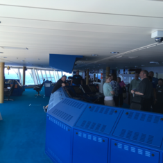 Bridge Viewing Room on Norwegian Gem
