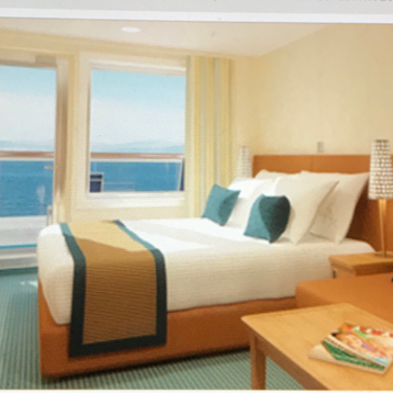 Balcony Stateroom on Carnival Breeze