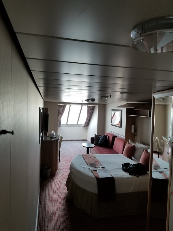 Oceanview Stateroom Cabin Category S7 Celebrity Silhouette
