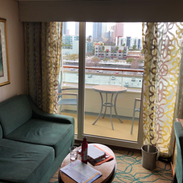Superior Oceanview Stateroom with Balcony on Rhapsody of the Seas