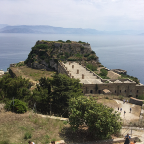 View from the top of the Old Fortress
