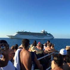 middle of the ocean - cococay