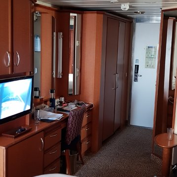 Deluxe Balcony Stateroom on Radiance of the Seas