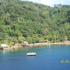 Coxen Hole, Roatan, Bay Islands, Honduras - Roatan Harbor, Honduras