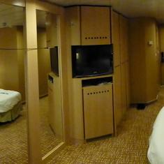 Panoramic of room