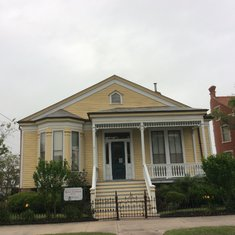 Old house in Galveston.