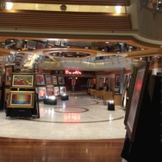 Art Gallery on Liberty of the Seas
