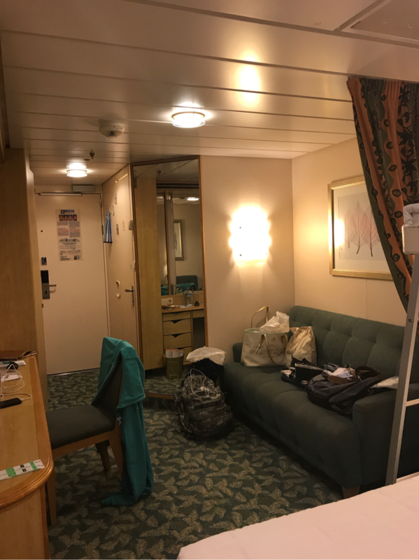 Balcony cabin 8256 on liberty of the seas category e1 for Liberty of the seas best cabins