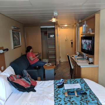 Oceanview Stateroom on Allure of the Seas