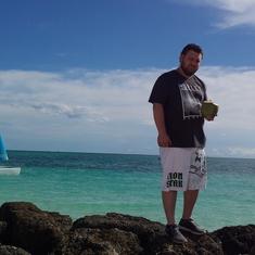 Freeport, Grand Bahama Island - Looks like a fake background in Freeport! Amazing!