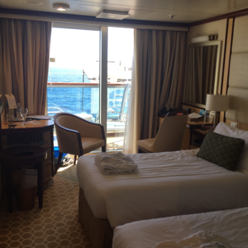 Balcony Stateroom (Obstructed View) on Regal Princess