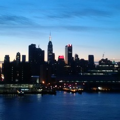 ny city at nite