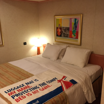Interior Bunk Bed Stateroom on Carnival Liberty