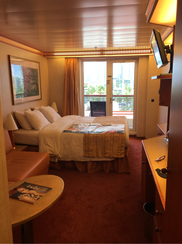 Balcony Stateroom Obstructed View Cabin Category 7a