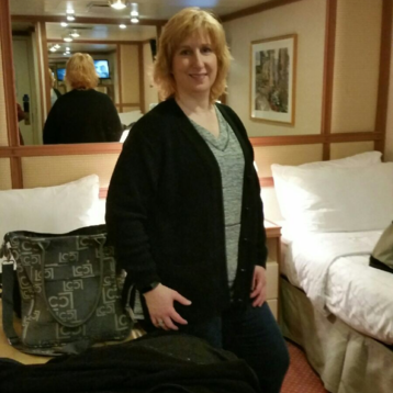 Oceanview Stateroom (Obstructed View) on Ruby Princess