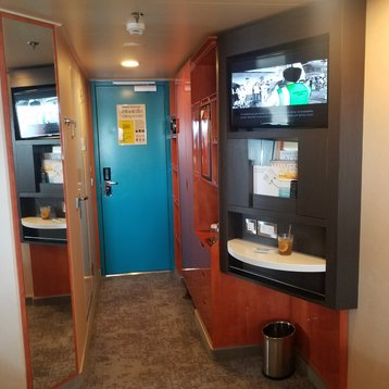 Obstructed Oceanview Stateroom on Norwegian Pearl