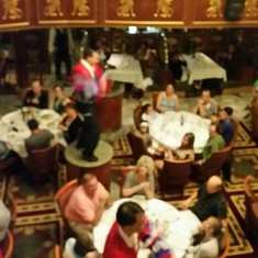 Restaurants on Carnival Spirit