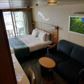 Superior Stateroom with Balcony on Oasis of the Seas