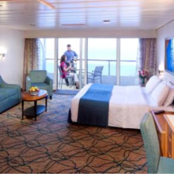Superior Oceanview Stateroom with Balcony on Grandeur of the Seas