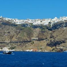 Santorini Bay