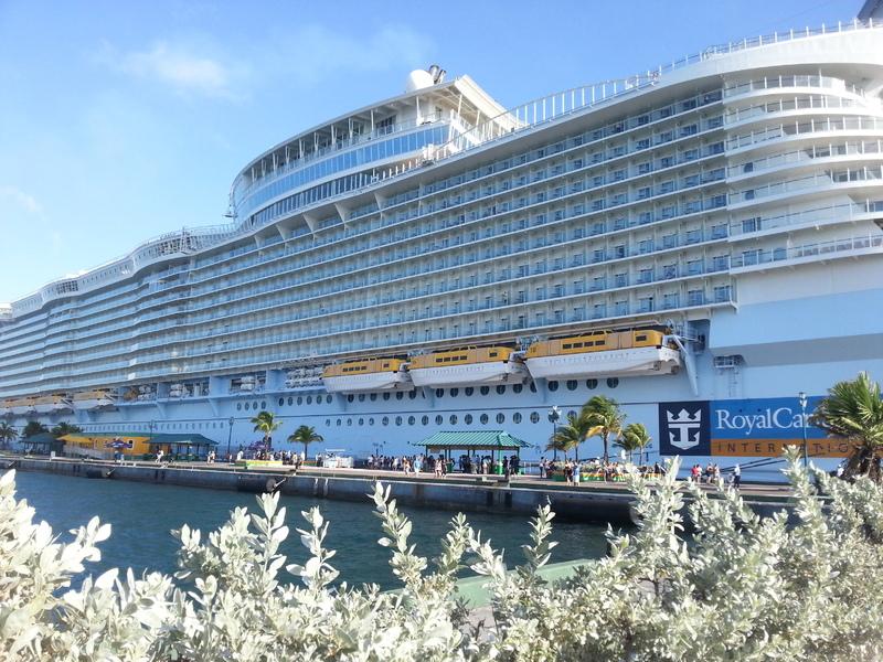 Nassau, Bahamas - Docked in Nassau