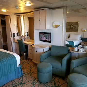 Junior Suite with Balcony on Rhapsody of the Seas