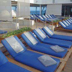 chairs at spa pool