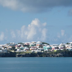 Pastel houses of Bermuda...