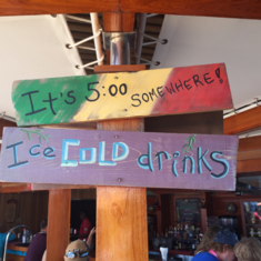 Redfrog Rum Bar on Carnival Dream