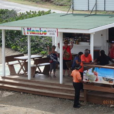 Philipsburg, St. Maarten - View point and drinks in St-Martin