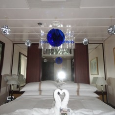 Decorated Stateroom
