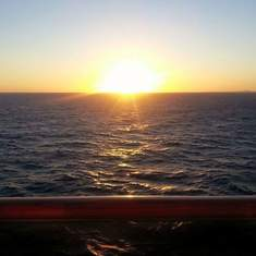 The Sky Meets The Ocean