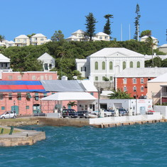 Entering Hamilton, Bermuda