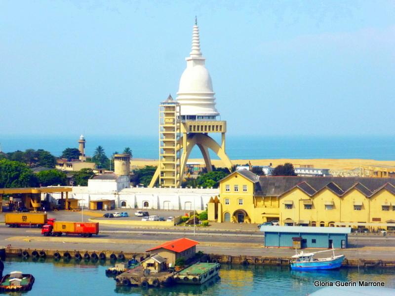 Colombo, Sri Lanka Harbor - Amsterdam