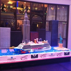 Inaugural Cake, by Carlo's Bake Shop, Norwegian Breakaway