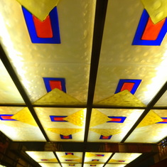 Ceiling of Ship