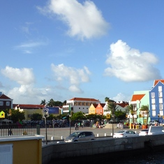 Willemstad, Curacao - Willemstad Colorful Buildings