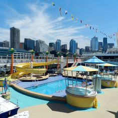Seattle, Washington - Pool Deck