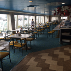 Garden Cafe on Norwegian Jade