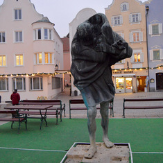 Sharding, Austria - St. Christopher Statue